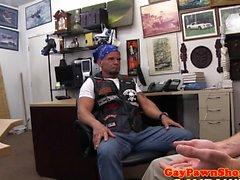 biker matures amateur assdrilled par pawnbroker