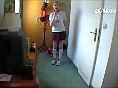 1er casting Coquin grimpant devant de La la caméra