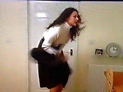 Windy Skirt Office Girl