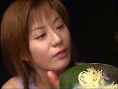 Amano Kokoro - Sperme aux nouilles