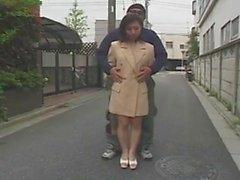 Japonaise soumise näyttelijä en public, putain maritale