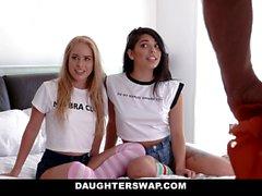 DaughterSwap - Teens Free the Nipple