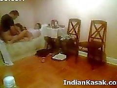 Intialaisten Punjabissa yliopiston parin fucking kova makuuhuone