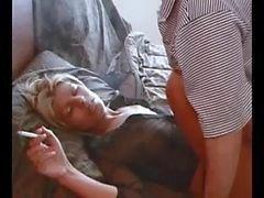 Sexo Smoking Hot Blonde Amateur