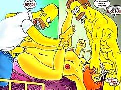 I Simpson Anime orgia