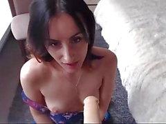 Sandra blowjob