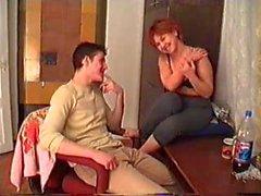 Mama e hijo borracho Filmado por el P.