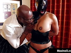 Asiatiques Trentenaire Maxine X Gets BBC Face & Pussy Fucked! Zut!