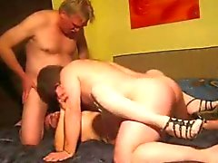 Älteres Deutsch Couple MMF - Bi