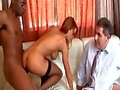 Janet Mason - Husband Watching Wife fucked by black guy