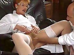ruivo maduras da enfermeira franceses fodida por de dois cacetes enorme