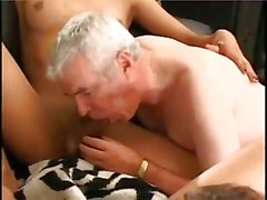 Crazy orgy with shemales