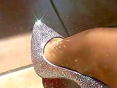 LGH - Tamia Topuklar und Naylon çorap - ladygaga topuklu ayakkabılarıyla by Tourweb