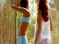 filles Portuguais de Vika et de Natacha