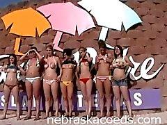 Whole Sorority House of Girls Naked on Spring Break