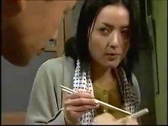 Japanska mogna MILF POV knullad
