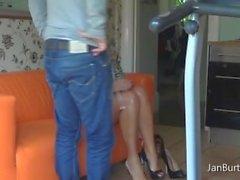P13 - Feet Massage dopo l'acquisto tour da passaggio Figliuolo senza biancheria intima