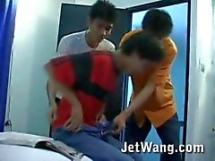 Yakalandı Sıcak Asya twink