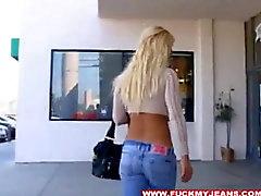 Transando de sexy Shylo a seus jeans