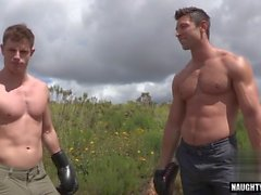 muscle gay anal sex and cumshot film feature 6