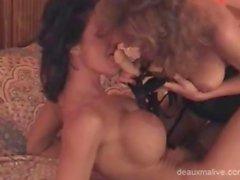 Deauxma get sex in lingerie lesbians