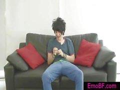 Çok şirin homo emo wanking