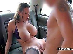 Siyah stokları Babe lanet taksi şoförü
