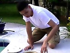 Filipino gay boy fisted and male hunk gay fisting Damian Ope