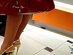 Luxury Candid Milf in High Heels