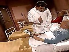 Corrupt nurses have fun with the patients