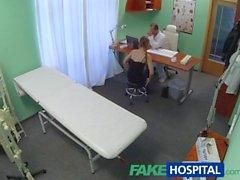 FakeHospital Lääkäri saa juuri mitä hän halusin kuumaa potilas