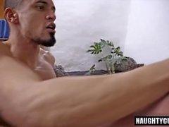 Büyük dick gay flip flop ve yüz