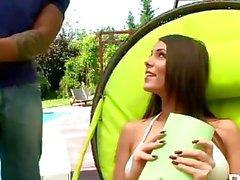 Melanie Memphis Villi Unkari kauneus 7 päivän sisällä iloa - kohtaus 3
