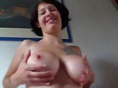 Hetaste Amatör Mogna Biker par knulla på webcam