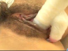 Yui Misaki hottie jovem chupa pau com paixão