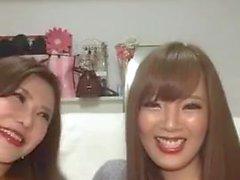 Hitomi Tanaka & Okita Anri Live Instagramissa