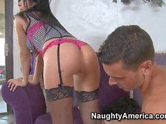 Lustful Spanish babe Rebeca Linares gets a fuck