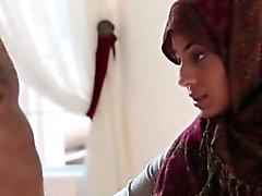 Sexy arabi- Teen muru Nadian Alin fucked musta kalu