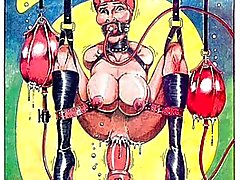 Insane BDSM orgie sex comic
