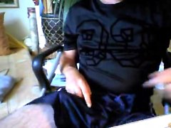 Deutsch Kerl Patrick auf Webcam