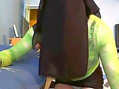 seksikäs niqabi tanssi