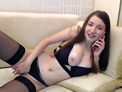Amateur Brunette étudiant Breathtaking Solo