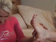 Lesbian Foot Worship # 2