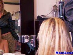 Tettona Lezdom hairdresser lamiera dai di bellezza
