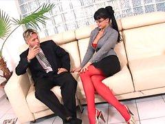 Horny Secretary Gets A Huge Bonus
