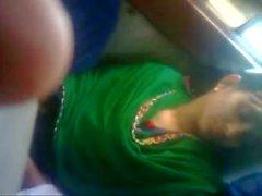 Amante de Bangladesh em autocarro