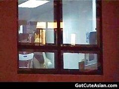 Asyalı İşyeri Kahrolası boş porno videosu part6
