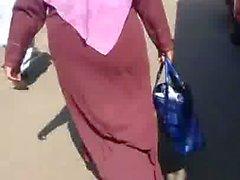 Hijab Abaya Candid: 017