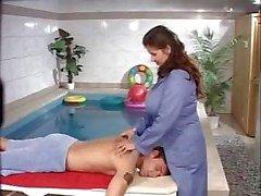 Uma massagem muito caro