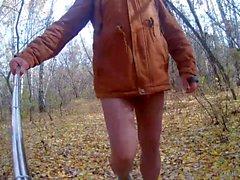 syksyllä puistossa